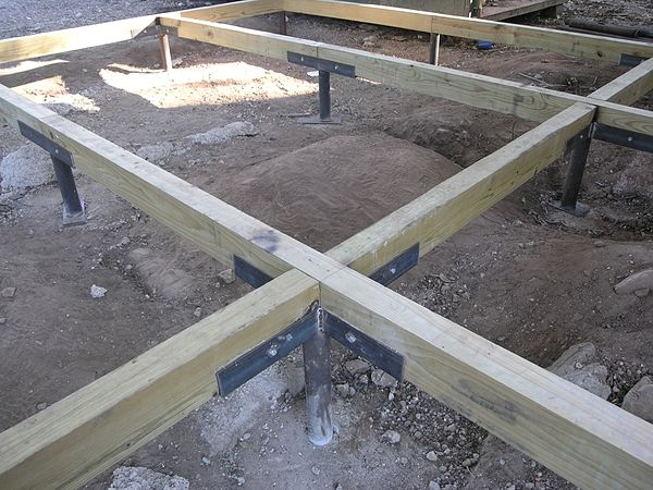 Pier-and-Beam-Foundation