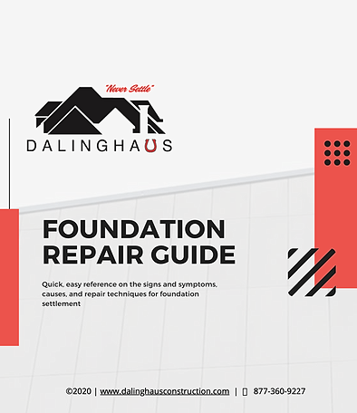 Preview of foundation repair guide for homeowners