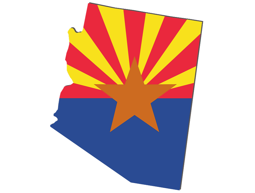 foundation repair in state of arizona flag