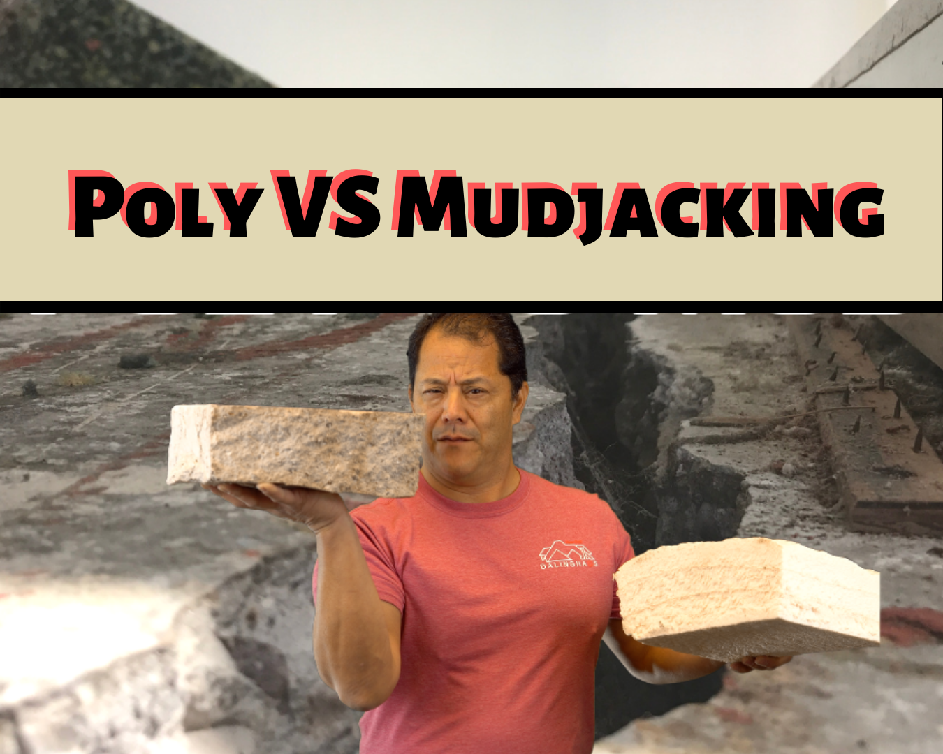 POLYURETHANE LIFTING VERSUS MUDJACKING