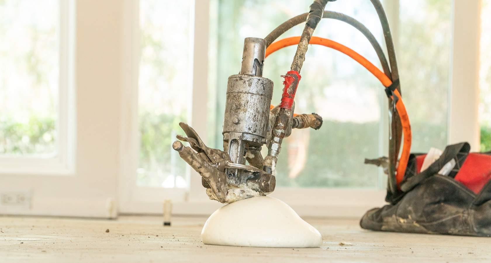 Polyurethane Injection vs Mudjacking (weight, application, & cure time)