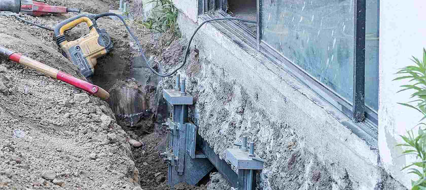 The Five Steps to Push Pier Foundation Repair