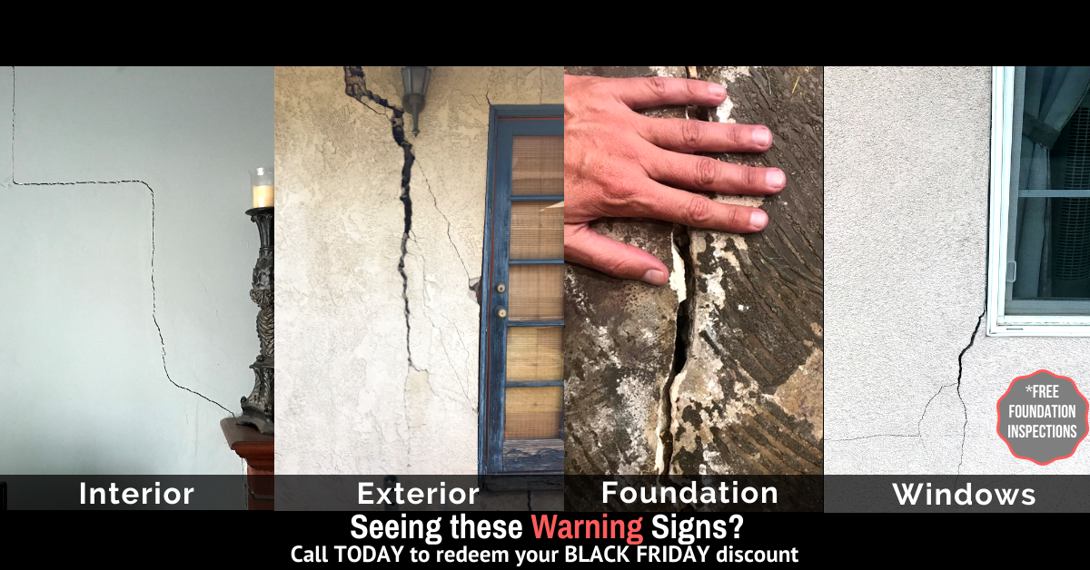 WARNING SIGNS OF FOUNDATION SETTLEMENT