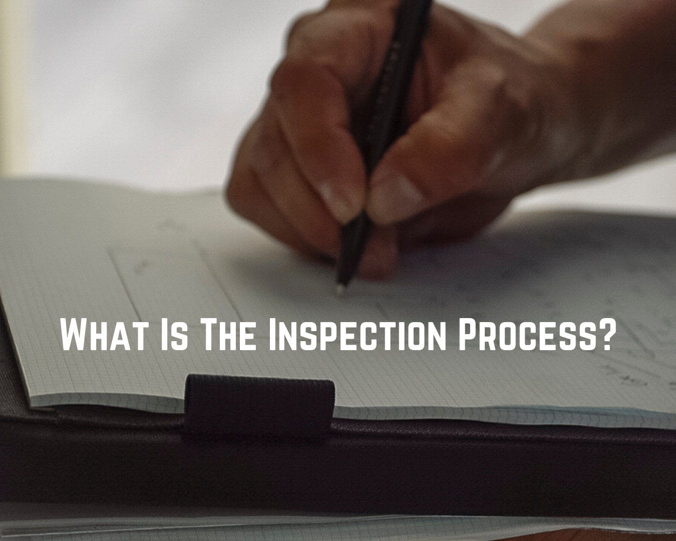 the foundation inspection process