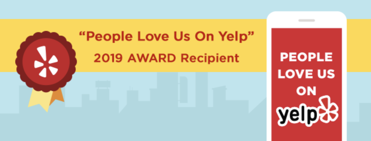 "DALINGHAUS CONSTRUCTION RECEIVES THE ""PEOPLE LOVE US ON YELP"" AWARD FOR 2019"