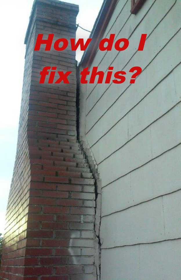 Why is my chimney leaning?